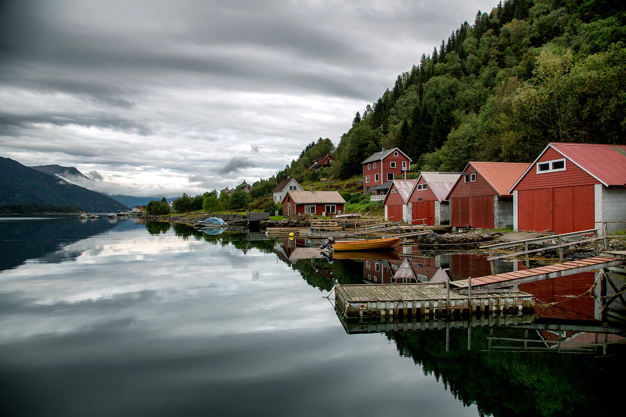 The Boatsheds in Balestrand